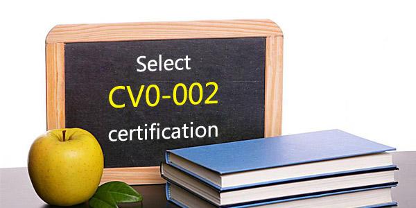 Select Comptia Cloud+ CV0-002 certificate