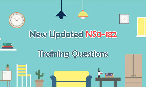 New Updated NS0-182 Training Questions