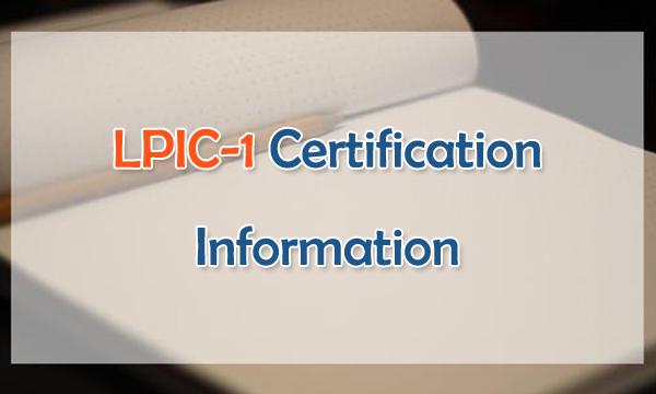 LPIC-1 Certification Information