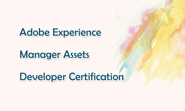 Adobe Experience Manager Assets Developer Certification