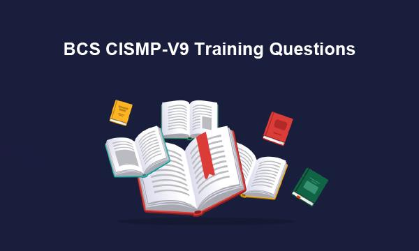BCS CISMP-V9 Training Questions